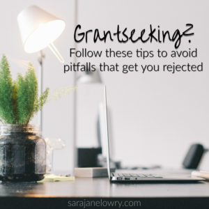 Grantseeking: Follow these tips to avoid pitfalls that get you rejected