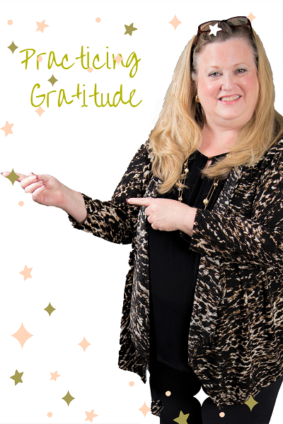 Happiness and gratitude magic expressed by Sara Jane Lowry